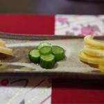 菜食健美 美卯 - 料理写真:大根の粕漬、大根のサワー漬け、胡瓜のピリ辛漬け