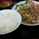 53344221 - 焼肉定食500円