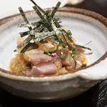 武蔵小山 しゃち - 炙り〆サバの柚子おろしポン酢