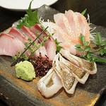 武蔵小山 しゃち - 鮮魚の盛り合わせ