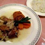 味のレストラン えびすや - 日替わりランチ(若鶏のソテーきのこソース)!