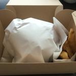 burger house UZU - テイクアウトの包み