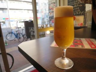 麻生バルuno - ハッピーアワーはビールが300円(2016年7月)