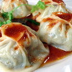 カレー&バイキング アンナプルナ - モモ ネパールの蒸し餃子