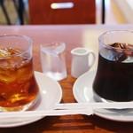 53357743 - アールグレイ&アイスコーヒー!!(^O^)/
