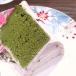 茶亭 羽當 - シフォン抹茶