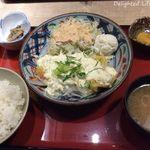 浪花ろばた 八角 - チキン南蛮定食(800円)16.5月