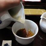 藤木庵 - 蕎麦湯