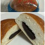 朋友館のパン屋さん - 甘さとおいしさがいっぱい…あんパン130円