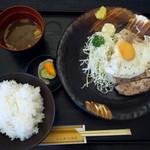 とんかつ浜名 - ポークソテー定食