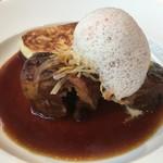 GINZA HABSBURG VEILCHEN - メイン2、梅山豚肩肉の赤ワイン煮込み
