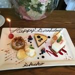 IVY PLACE - 2017'07またお誕生日お祝いしていただきました。デザートも満足