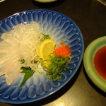 魚の上よし - キアラ薄造り