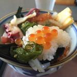 53373834 - 《三色丼》1,200円                         2016/7/4