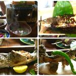 53374850 - 川魚三昧定食