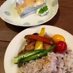 つぐみカフェ - マルシェのランチボックスとチーズケーキ(2016.07現在)