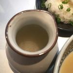 53376931 - 鯛を炊いたん 専用割スープ