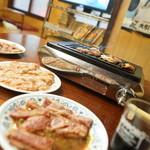焼肉後楽園 - 料理写真:焼くべし焼くべし!
