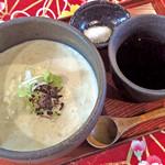 座座 - 自家製蕎麦寄せ豆腐