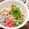 タイの汁なしまぜそばSET(生春巻+タイサラダ+スープ付)