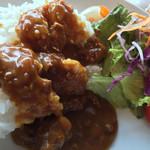 chiso-zammai - キーマ風カレー。肉がミンチなだけ(^_^;)