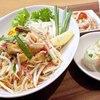 パッタイSET(生春巻+タイサラダ+スープ付)