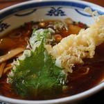 角浅 - 料理写真:天ぷら中華そば700円