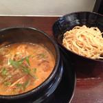 8910 - ホルモンつけ麺@2016/07/11