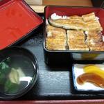 橋本屋 - 特上(蒲焼)お重、定食セット