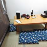 橋本屋 - 座敷