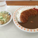 レストラン田野 - 特製カツカレー 何が特製?