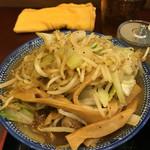 甍 - 甍野菜つけ麺、大盛り
