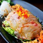 鯛サラダ(小菜)