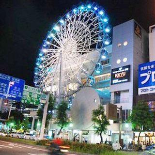 サンシャイン栄(観覧車ビル)隣の好立地。駅から徒歩30秒。
