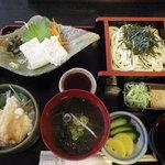 和食処清恵 - ゆば天丼膳