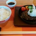 ビアダイニング 王様の食卓ウエスト - ハンバーグ(おろしポン酢)
