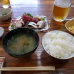 魚料理 いさり火 - 本日のランチ【刺身】(900円)