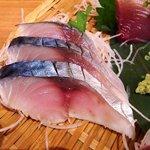 浜焼 魚松 - 浜焼 魚松 @西葛西 刺身定食 〆鯖