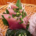 浜焼 魚松 - 浜焼 魚松 @西葛西 刺身定食 鰹