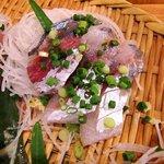 浜焼 魚松 - 浜焼 魚松 @西葛西 刺身定食 鰯