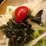軍鶏一 - サラダ