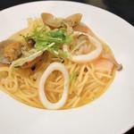 ビストロ あおやぎ - 料理写真:ボンゴレスパゲティ