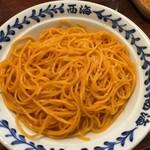 ラーメンショップ 西海 - 【2016.7.4】替玉 赤麺¥120