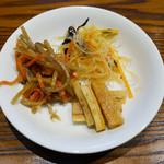 53392951 - お惣菜3種