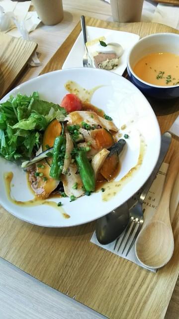 プランタン ブラン - 塩麹チキンライス   980円