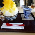 富久屋花ス五六 - かき氷 マンゴー。