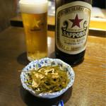 小川の魚 - 料理写真:201607 お通しは300円