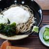 江戸家 - 料理写真:冷やしとろろそば:600円/2016年7月