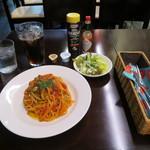 Wine&Cafe Sai - ナポリタンセット