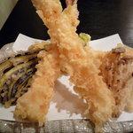一喜 - 【2010.9.30】天婦羅♪海老が美味しそう~♪